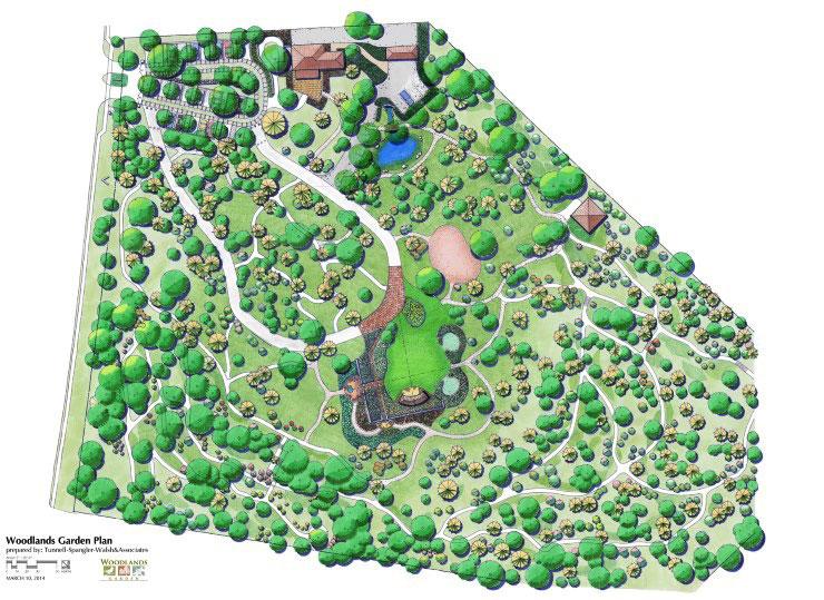 Master Plan Woodlands Garden